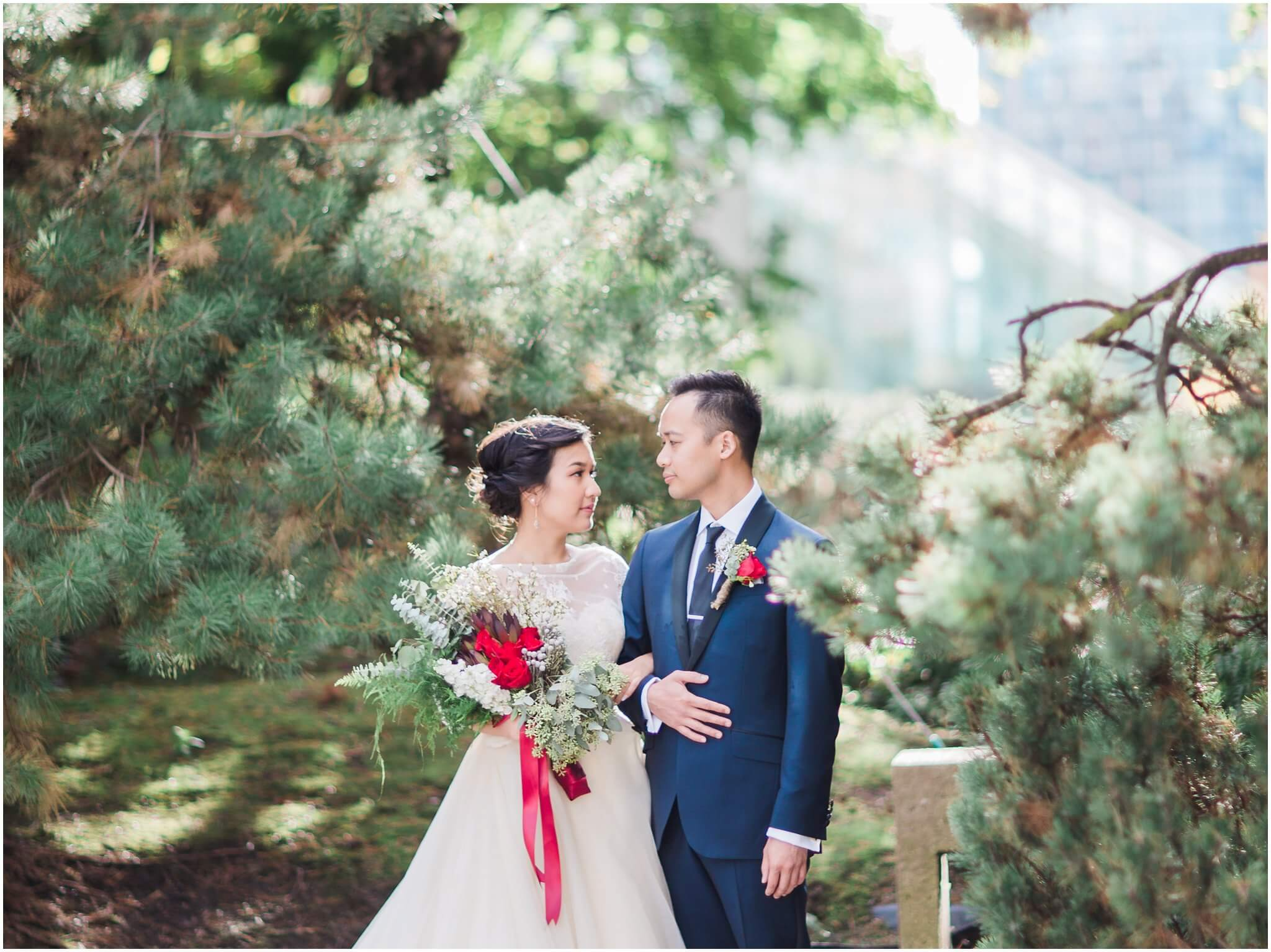 Pacific Northwest inspired wedding at Brix and Mortar Restaurant in Downtown Vancouver