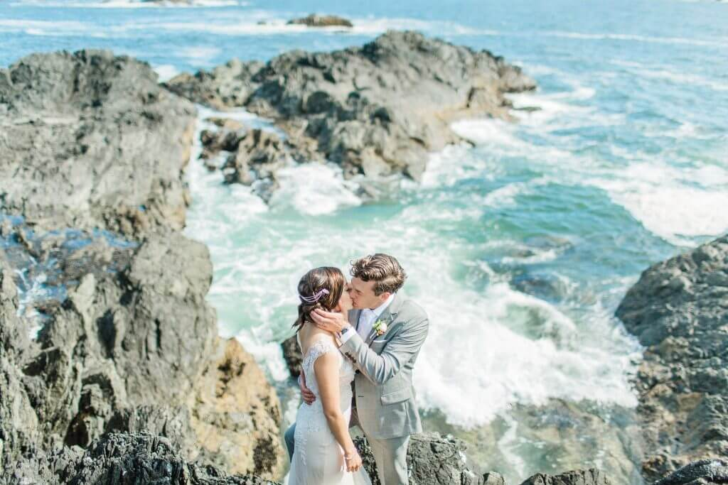 Destination Wedding in Ucluelet, Tofino