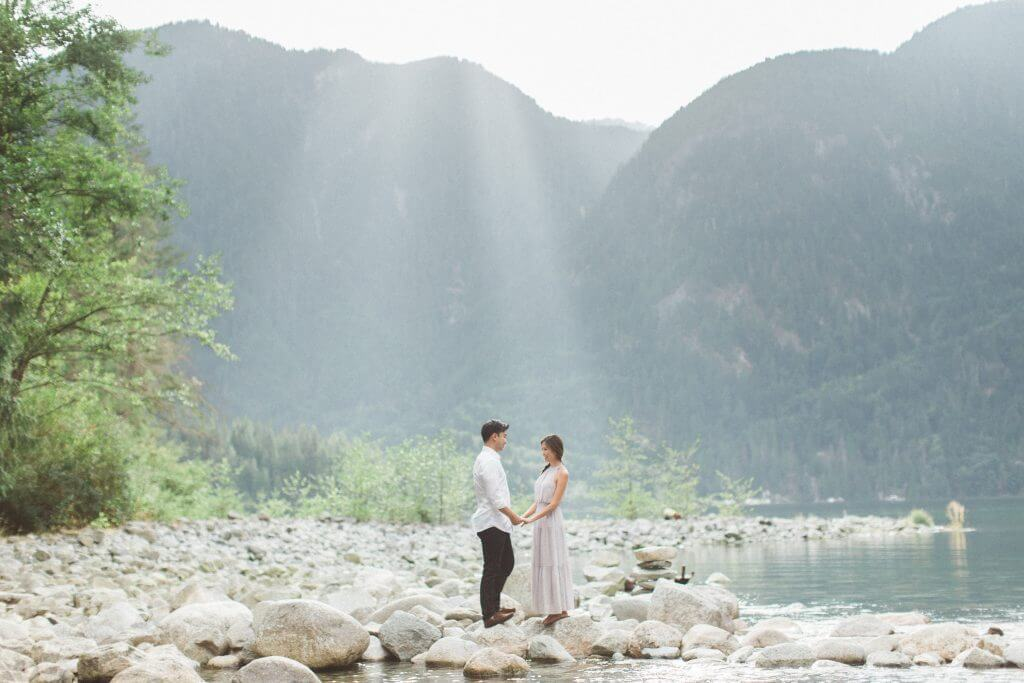 Vancouver Wedding Photographer, David Tam, goes on a boat ride up the Indian Arm to Granite Falls for a surprise proposal.