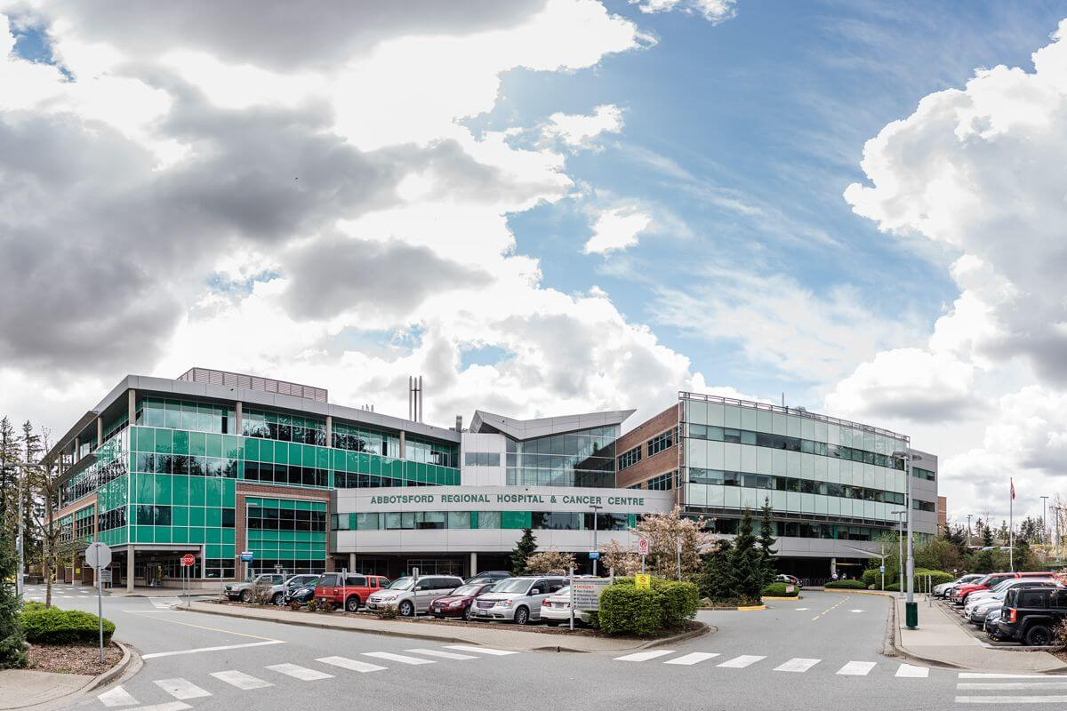 Abbotsford regional hospital and cancer centre.